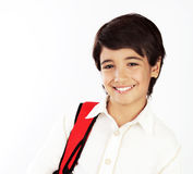 Portrait of happy schoolboy Royalty Free Stock Images