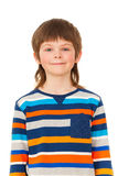 Portrait of happy schoolboy looking at camera royalty free stock images