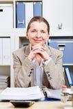 Portrait of happy senior business Royalty Free Stock Photos