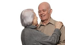 Portrait of a happy senior couple Royalty Free Stock Photo