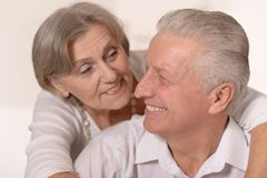 Portrait of a happy senior couple. Stock Photography