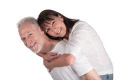 Portrait of happy senior couple Royalty Free Stock Photography