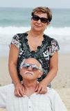 Portrait of happy senior couple Royalty Free Stock Photos