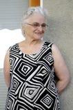 Portrait of a happy senior lady Royalty Free Stock Photos