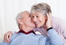Portrait of happy senior loving couple Royalty Free Stock Image
