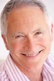 Portrait Of Happy Senior man Stock Photo