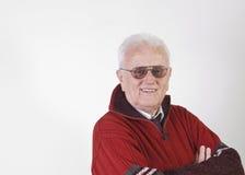 Portrait of happy senior man Royalty Free Stock Images