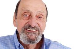 Portrait of happy senior man smiling royalty free stock photography
