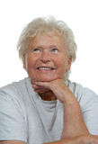 Portrait of a happy senior woman Stock Photography