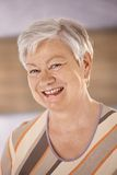 Portrait of happy senior woman Royalty Free Stock Images