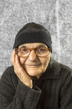 Portrait of a happy senior woman Stock Photography