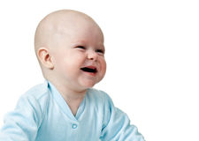 Portrait of happy and smiling baby Royalty Free Stock Image