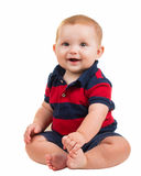 Portrait of happy smiling baby boy Royalty Free Stock Photo