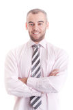 Portrait of happy smiling businessman Stock Photography