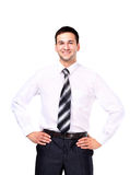 Portrait of happy smiling businessman Royalty Free Stock Photography