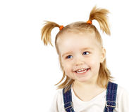 Portrait of the happy smiling child Royalty Free Stock Images