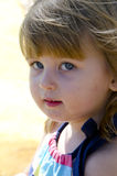 Portrait happy smiling child Royalty Free Stock Images