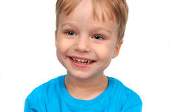 Portrait of happy smiling little boy Royalty Free Stock Photo