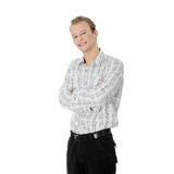 Portrait happy smiling man Royalty Free Stock Images