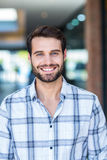 Portrait of happy smiling man royalty free stock photography