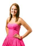 Portrait of happy smiling teenage girl Royalty Free Stock Photo