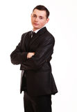 Portrait of happy smiling young businessman Royalty Free Stock Photography