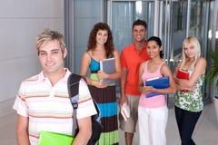 Portrait of happy student Stock Image