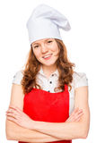 Portrait of a happy and successful chef Royalty Free Stock Photography