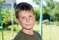 Portrait of a happy teenager Royalty Free Stock Photography