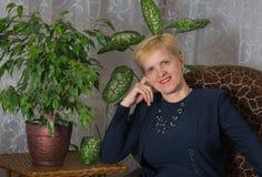 Portrait of happy Ukrainian woman Stock Image