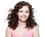 Portrait of happy woman Royalty Free Stock Photos