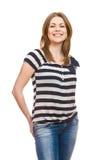 Portrait of happy  woman Stock Images