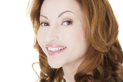 Portrait of happy woman Royalty Free Stock Images