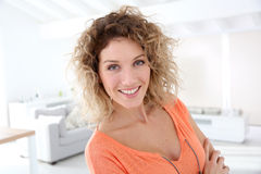 Portrait of happy woman Royalty Free Stock Photography