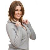 Portrait of happy  woman Stock Photography