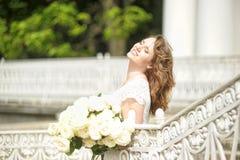 Portrait of happy woman Stock Image