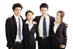 Portrait Of happy Young Business group Royalty Free Stock Image