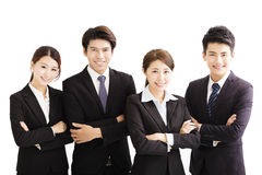 Portrait Of happy Young Business group Stock Photo