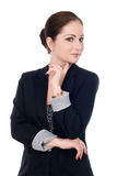 Portrait of a happy young business woman Royalty Free Stock Photo