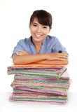 Portrait of happy young business women Royalty Free Stock Photography