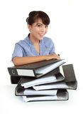 Portrait of happy young business women Royalty Free Stock Images