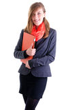 Portrait of happy young business women Stock Photography