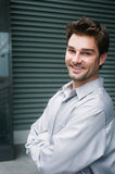 Portrait of a happy young businessman Royalty Free Stock Image