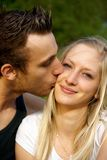 Portrait of a happy young couple Royalty Free Stock Photos