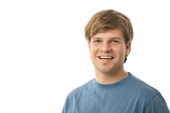 Portrait of happy young man Royalty Free Stock Images