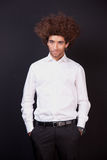 Portrait of a happy and young  man Royalty Free Stock Photos