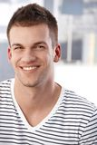 Portrait of happy young man Royalty Free Stock Photos