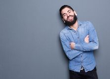 Portrait of a happy young man Stock Photography