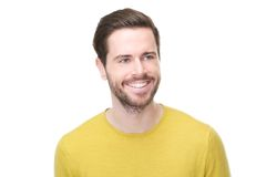 Portrait of a happy young man smiling Royalty Free Stock Photography