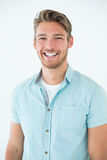 Portrait of a happy young man Royalty Free Stock Photos